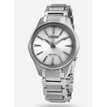71% off Citizen Modena Eco-Drive Silver Dial Ladies' Stainless Steel Watch