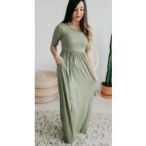 71% off Sloan 1/2 Sleeve Maxi Dress