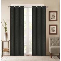 72% off 2-Panels Madison Embossed Thermal Energy-Saving Blackout Curtains