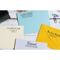 72% off Personalized Return Address Stamps