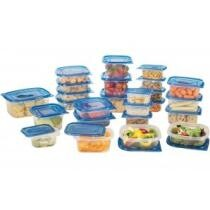 72% off Reusable Plastic Food Storage Container Set