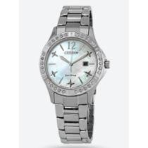 74% off Citizen Elektra Diamond White Mother of Pearl Dial Ladies' Watch
