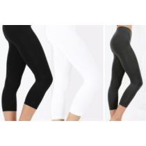 74% off Women's Capri Layering Leggings