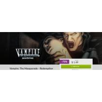 75% off Vampire The Masquerade Redemption