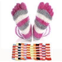 76% off 3 Pack of Super Comfy Fuzzy Toe Socks