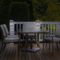 76% off 4-Pack: EcoThink Outdoor Solar LED Lights