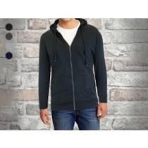 76% off Men's Fleece-Lined Zip Sweater Hoodie