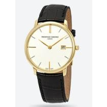 77% off Frederique Constant Slimline White Dial Men's Watch