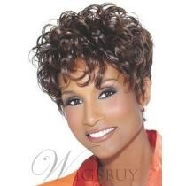 78% off 8-Natural African American Short Curly Wig