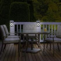 80% off 4-Pack: EcoThink Outdoor Solar LED Lights
