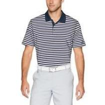 80% off Adidas 1247 Men's Ultimate 3 Stripe Polo Athletic Golf Casual T-Shirt + Free Shipping