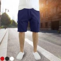 80% off Men's 100% Cotton Belted Cargo Shorts