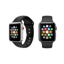 80% off Silicone Sports Replacement Band for Apple Watch Series 1, 2 or 3