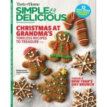 80% off Simple & Delicious Magazine for 1 Year