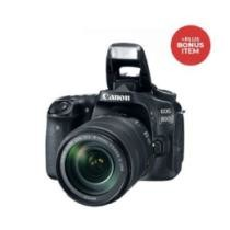$800 off EOS 80D DSLR w/ EF-S 18-135mm IS USM Lens