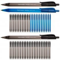 81% off 24-Piece InkJoy 100 RT Ballpoint Medium Click Pens by Paper Mate