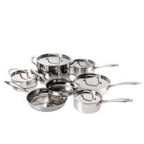 81% off Cuisinart 12-Piece Tri-Ply Cookware Set