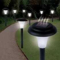 82% off 8-Pack: Solar LED Accent Lights