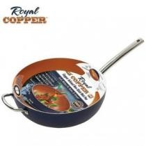 "82% off Royal Copper 12"" Non-stick Wok Cookware"