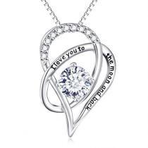 83% off 18K White Gold Swarovski Crystal Necklace