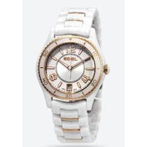 83% off Ebel X-1 Silver Dial White Ceramic Ladies' Watch