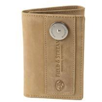 84% off Field & Stream Ogden Leather Three-Fold Wallet