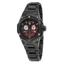 84% off Lamborghini Spyder Red Line Carbon Fiber Dial Men's Chronograph Watch