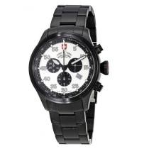 84% off SWISS MILITARY Hawk Silver Dial Men's Chronograph Watch