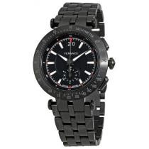 84% off Versace V-Race Chronograph Black Dial Men's Watch