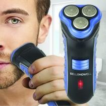 86% off Bell + Howell Triple Rotary Shaver