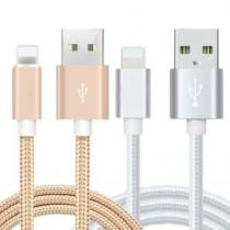 87% off 10ft Heavy Duty Braided 8-Pin iPhone USB Charger Cable
