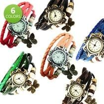 87% off Boho Chic Vintage Inspired Handmade Butterfly Watch