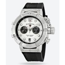 87% off Swiss Legend Triton Chronograph Silver Dial Watch