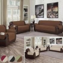 87% off Waterproof Quilted Reversible Furniture Slipcover