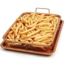 $9 Copper Chef 2-Piece Copper Crisper
