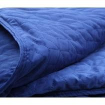 """9% off BlanQuil Geo-Quilted 48"""" x 74"""" 20-lb Weighted Blanket w/ Removable Cover"""
