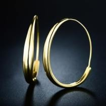 90% off Gold Plated Hoop Earrings