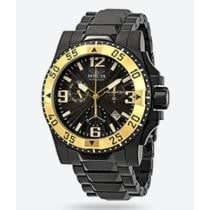 91% off Invicta Excursion Chronograph Black Dial Men's Watch