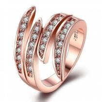 93% off 18K Rose Gold Classic Ariana Ring