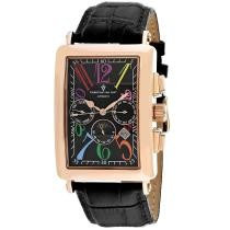 93% off Christian Van Sant Men's Prodigy Automatic Leather Strap Watch