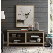 $99 Walker Edison Wood TV Media Storage Stand + Free Shipping