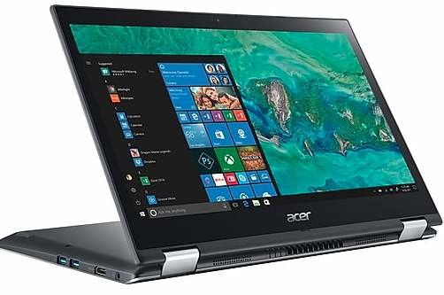"""Acer Spin 3 2-in-1 Laptop: Intel Core i3-8130U, 14"""" 1080p IPS Touchscreen, 8GB DDR4, 256GB SSD, Win 10 $459.99 + FS"""