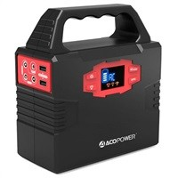 Acopower 150Wh 40,8000mAh Portable Solar Generator Power Supply $110