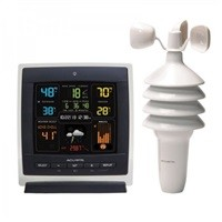 Acurite 00622M Pro Color Weather Station w/ Wind Speed $54.99