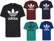 Adidas Men's Short-Sleeve Trefoil Logo T-Shirt