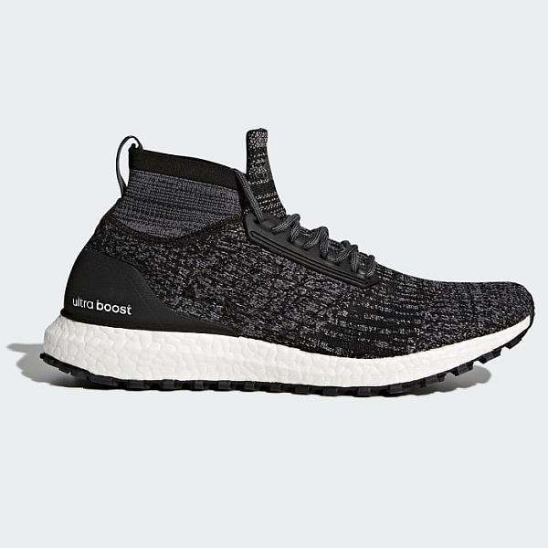 Adidas UltraBoost All Terrain Shoes Core Black/Core Black/Grey - $110