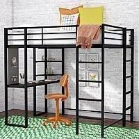 Aime Twin Loft Bed w/ Bookcase $295.03 + fs