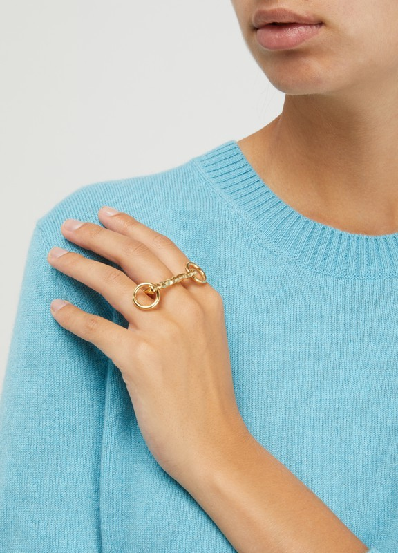 Alican Icoz:Double Circle ring
