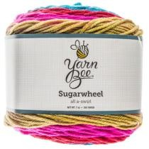 All A-Swirl Yarn Bee Sugarwheel Yarn Now $6.99