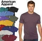 American Apparel Tri-Blend Ultra-Soft Short T-Shirt 5-Pack